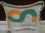 Knitted makespace logo