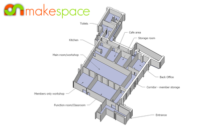 Makespace Floorplan